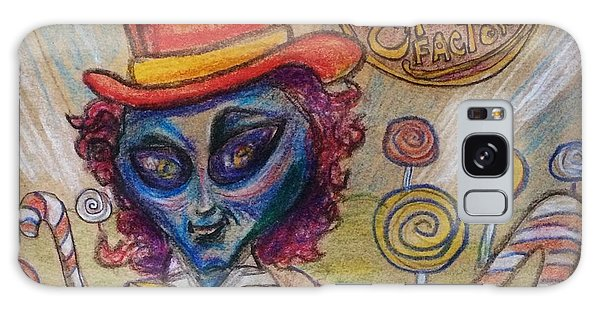Alien Wonka And The Chocolate Factory Galaxy Case