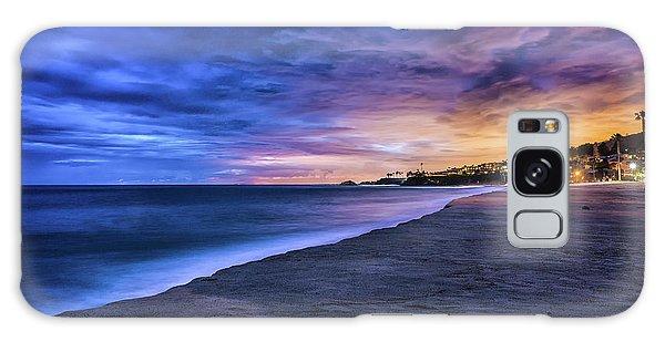 Aliso Beach Lights Galaxy Case