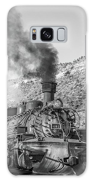 Galaxy Case featuring the photograph All Aboard by Colleen Coccia