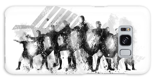 All Blacks Haka Galaxy Case