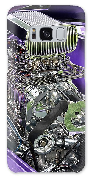 All Chromed Engine With Blower Galaxy Case
