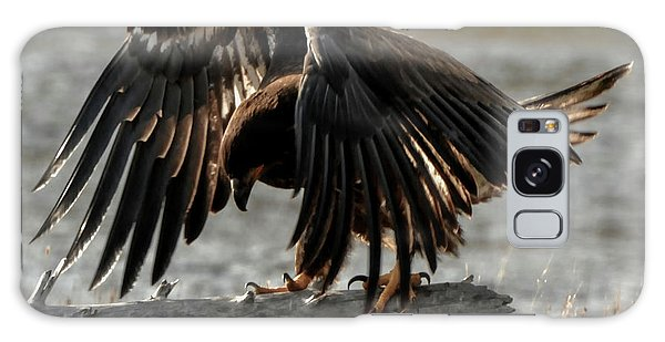 All Feathers Galaxy Case