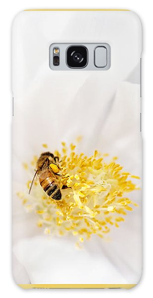 Pollen Galaxy Case - All In A Day's Work by Rebecca Cozart