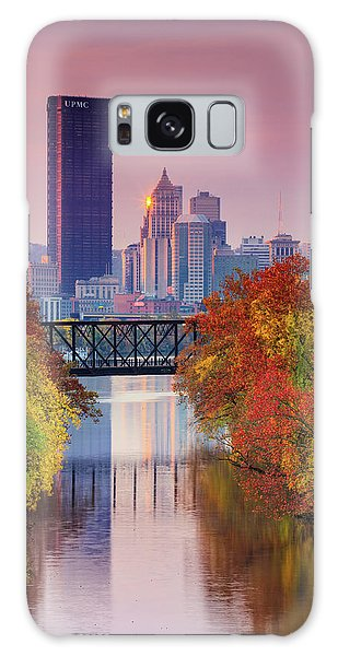 All Pittsburgh Pink  Galaxy Case