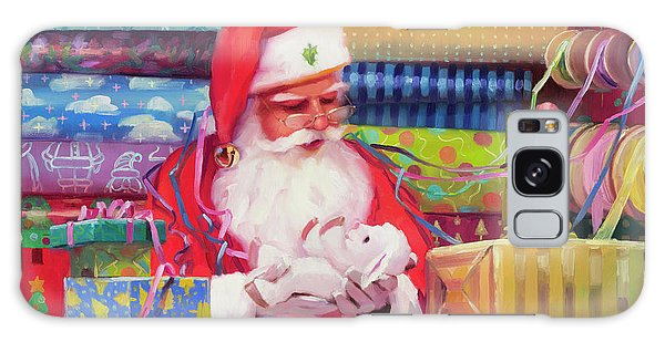Galaxy Case featuring the painting All Wrapped Up by Steve Henderson