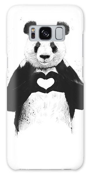 Animals Galaxy Case - All You Need Is Love by Balazs Solti