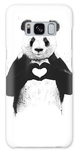 Animal Galaxy Case - All You Need Is Love by Balazs Solti