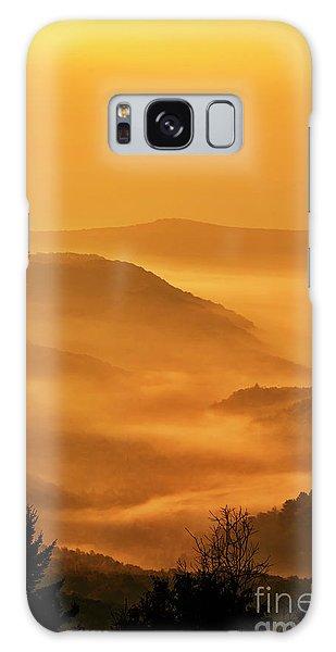 Allegheny Mountain Sunrise Vertical Galaxy Case