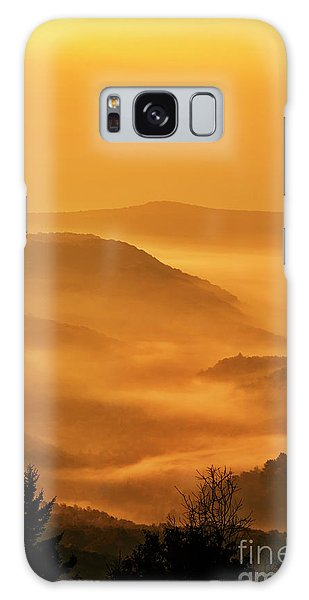 Allegheny Mountain Sunrise Vertical Galaxy Case