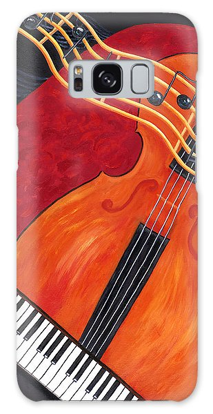 Galaxy Case featuring the painting Allegro by Karen Zuk Rosenblatt