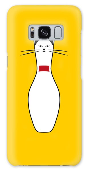 Cat Galaxy S8 Case - Alley Cat by Nicholas Ely
