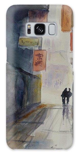 Alley In Chinatown Galaxy Case by Tom Simmons