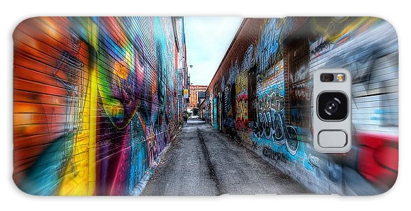 Galaxy Case featuring the photograph Alley by Michaela Preston
