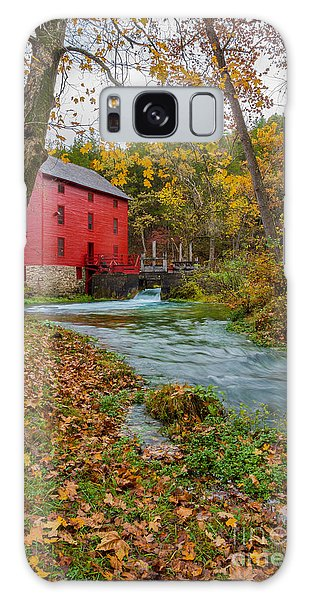 Alley Mill In Autumn Galaxy Case