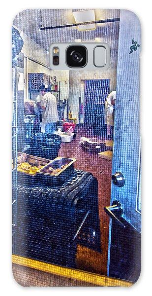 Alley Screen Door Galaxy Case