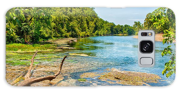 Alley Springs Scenic Bend Galaxy Case by John M Bailey