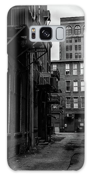 Galaxy Case featuring the photograph Alleyway I by Break The Silhouette