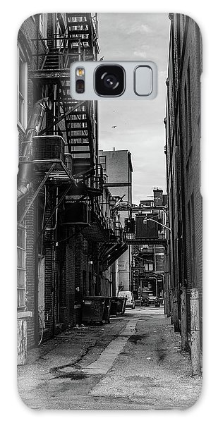 Galaxy Case featuring the photograph Alleyway II by Break The Silhouette