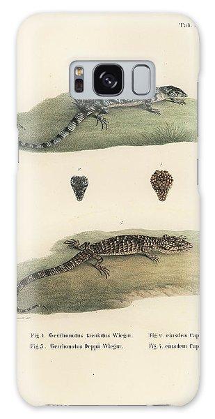 Alligator Lizards Galaxy Case