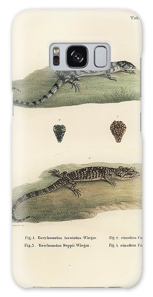 Alligator Lizards Galaxy Case