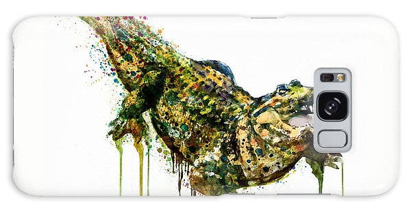 Alligator Watercolor Painting Galaxy S8 Case