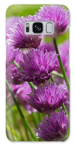 Allium Blooms Galaxy Case