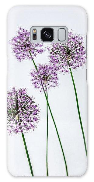 Alliums Standing Tall Galaxy Case by Susan  McMenamin