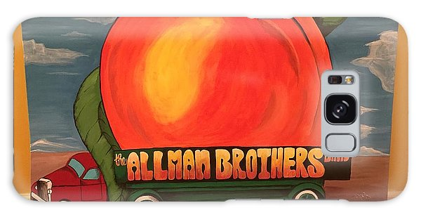 Brothers Galaxy Case - Allman Brothers Eat A Peach by Wes Beaver