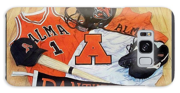 Alma High School Athletics Galaxy Case