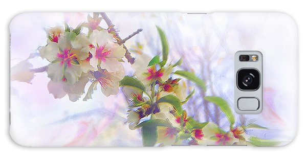 Almond Blossoms Galaxy Case