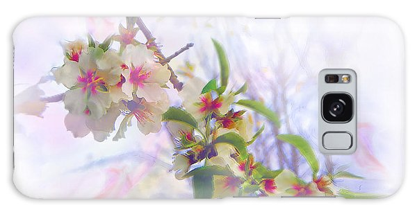 Almond Blossoms Galaxy Case