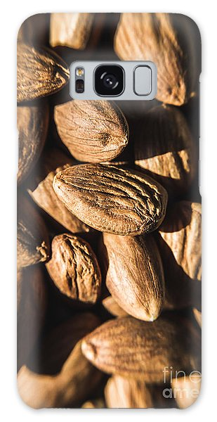 Galaxy Case featuring the photograph Almond Nuts by Jorgo Photography - Wall Art Gallery