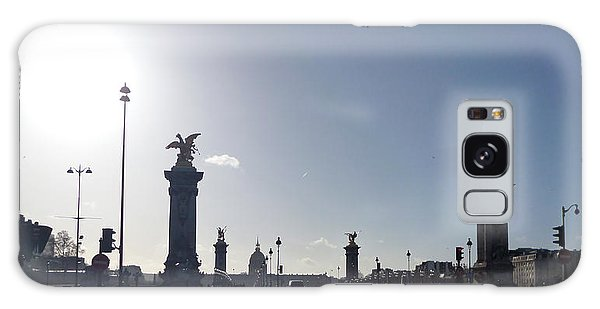 Almost Night In Paris Galaxy Case