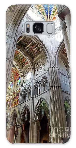 Almudena Cathedral Interior In Madrid Galaxy Case