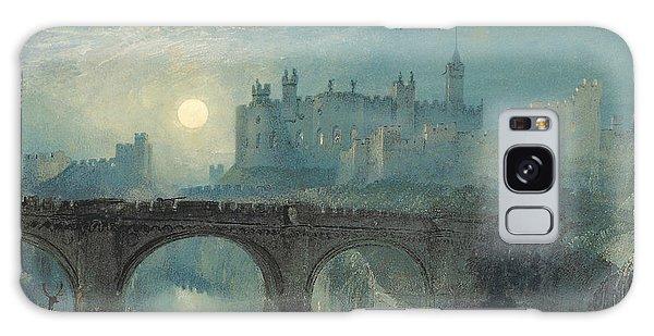 Castle Galaxy Case - Alnwick Castle by Joseph Mallord William Turner