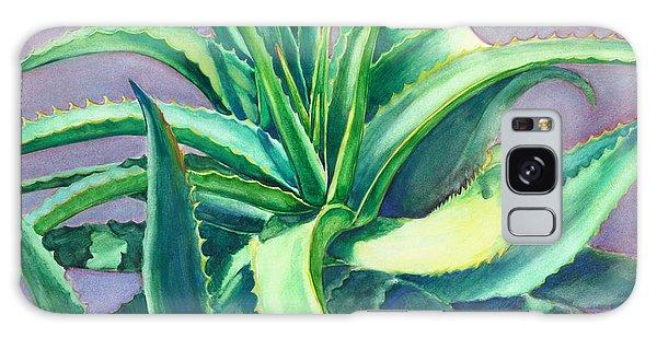 Aloe Vera Watercolor Galaxy Case
