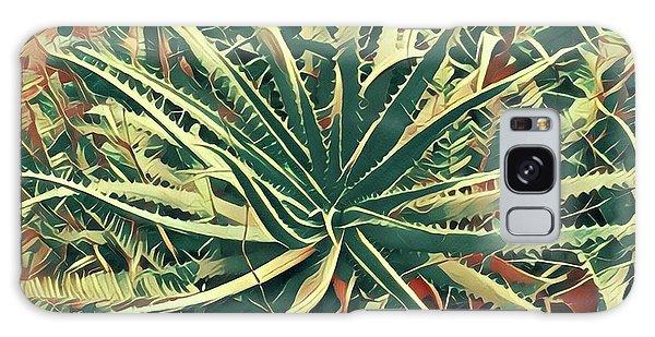 Aloha Aloe In Puna Galaxy Case