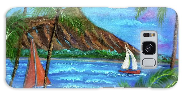 Aloha Diamond Head Galaxy Case