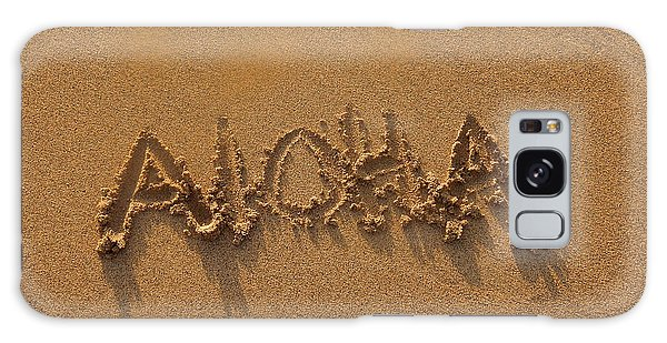 Aloha In The Sand Galaxy Case