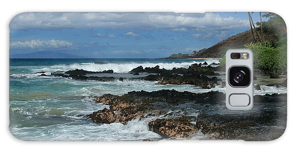 Aloha Island Dreams Paako Beach Makena Secret Cove Hawaii Galaxy Case
