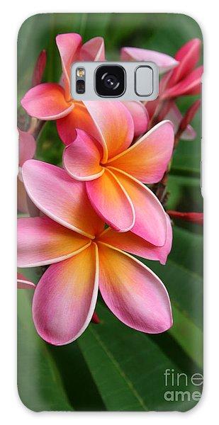 Aloha Lei Pua Melia Keanae Galaxy Case