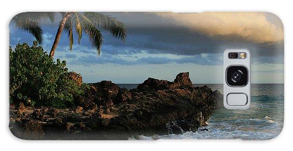 Aloha Naau Sunset Paako Beach Honuaula Makena Maui Hawaii Galaxy Case