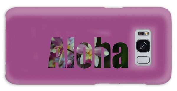 Aloha Orchids Type Galaxy Case by Kerri Ligatich