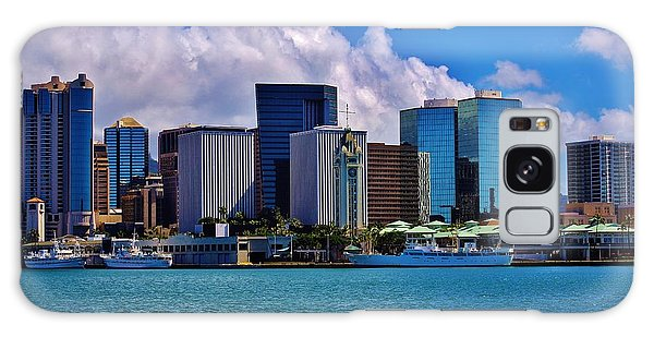 Aloha Tower Downtown Galaxy Case