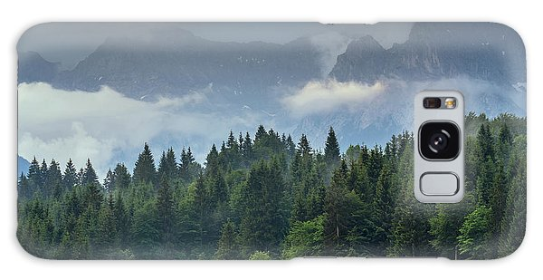 Alone In German Alps Galaxy Case