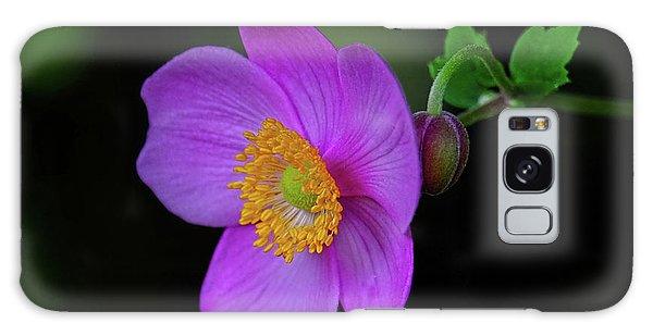 Anenome Purple Galaxy Case by Ronda Ryan