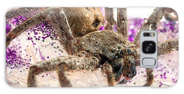 Along Came A Spider Galaxy Case by Tim Nichols