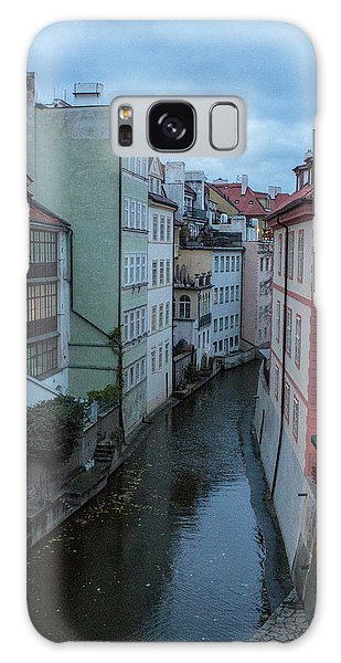Galaxy Case featuring the photograph Along The Prague Canals by Matthew Wolf