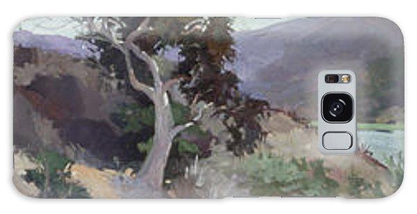 Betty Billups Galaxy Case - Along The Shore - Plein Air  Catalina Island by Betty Jean Billups