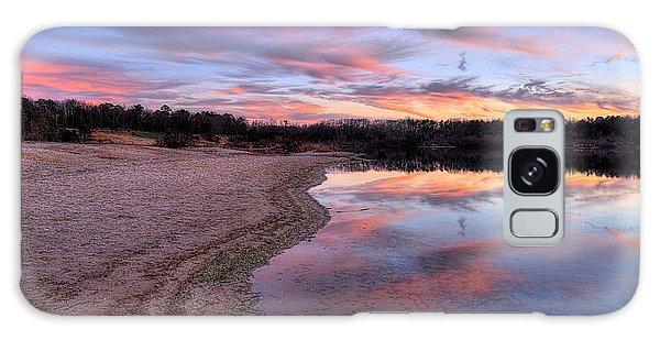 Along The Shoreline Galaxy Case by John Loreaux